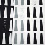 北欧デザイン ブッチャー生地W巾プリント マロニエ柄注)個数1=10cmです。50cm以上、10cm単位の販売です。生地幅157cm