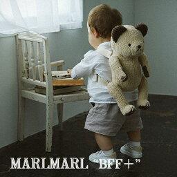 【全4種】MARLMARL マールマール:BFF+ 多機能ぬいぐるみリュック[ラッピング.のし.メッセージ無料]リュック/クッション/肩紐に名入れ刺しゅう可/出産祝い/誕生日祝い/ベビー/キッズ/男の子/女の子/ギフト/プレゼント/送料無料