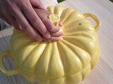 土鍋 かぼちゃ  常滑焼 陶器 日本製かぼちゃ土鍋L【/常滑焼/陶器】