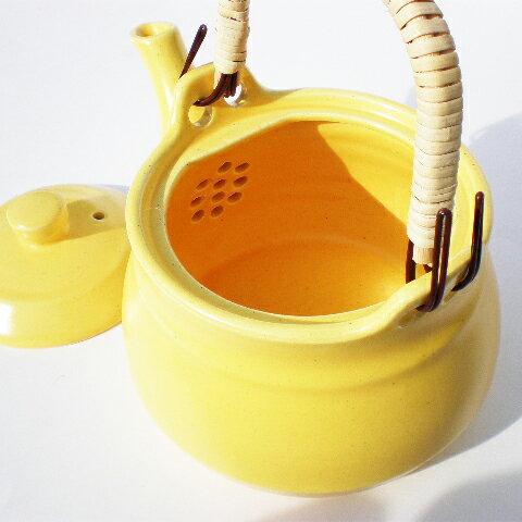 マムキッチン『耐熱土瓶黄色8号』