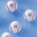 スポーツ好きの二人にピッタリ!野球ボールのデザインの圧縮タオル! 【20%OFF!】野球ボールタ...