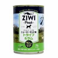 Ziwi Peak(ジウィピーク)ドッグ缶 トライプ&ラム 390g×7