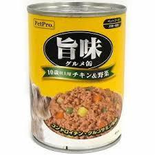 ペットプロ旨味グルメ 10歳以上チキン&野菜味 375g×24個
