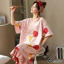 ネグリジェ パジャマ レディース 春夏 半袖ワンピース パジャマ カートン 大きいサイズ ネグリジェ ゆったりワンピース マタニティーナイトロープ パジャマ 部屋着可愛い