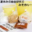 手作り味噌キット 夏休み自由研究版 出来上り1.6kg用