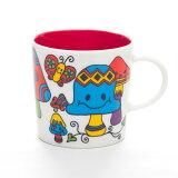 MUGOO。オシャレでかわいいデザインマグカップ らくがき「キノコの森」