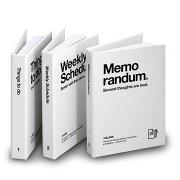 ネコポス モノトーン インテリア シンプル スケジュール ウィークリー