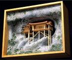 大感謝価格『木製建築模型1/75『三徳山三佛寺投入堂』』送料無料『メーカー直送品。代引不可・同梱不可・返品キャンセル・割引不可』 ポイント断崖絶壁に建つ国宝建造物10P03Dec16