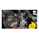 【ゴジラ生誕60周年記念腕時計】送料無料ウォッチ 特撮怪獣映画アイテムグッズ たったの1954本生産! ゴジラ生誕60周年記念腕時計P19May15