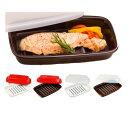 1個プレゼント企画あり『マイクロプウェーブヒートプレートS』焼き魚が電子レンジで数分で調理余分な水分や油をカット焼き料理そのままお皿としても2個で送料無料5個で梱包時に1個多く入れてプレゼント