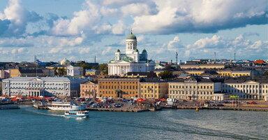 北欧フィンランドFinlaysonのKassiテーブルランナー