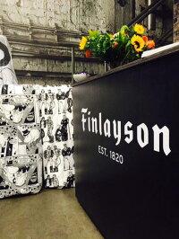 北欧フィンランドヘルシンキ老舗Finlaysonエプロン