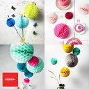 【DM便OK】ENGEL社 / エンゲル社 honeycombs(ペーパー ハニカムボール) 3色セット【ガーランド ハニカム ボール モビール】