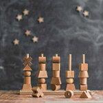 woodenstory/���ɥ��ȡ��naturalstackingtoy(�ʥ����륹�ȥå��ȥ�)�ڽл��ˤ�������1��2��3�н��˽��λ��ˤλҡۻҶ��Υ��ꥹ�ޥ��ץ쥼��Ȥ˿͵��Τ������