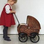 【送料無料】dollpramヨーロッパのアンティーク風手押し車|ドールプラム赤ちゃん誕生日3歳誕生日祝い三歳男女出産祝いギフト男の子女の子プレゼントベビー幼児インテリアおしゃれ海外