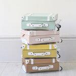 OlliElla(オリエラ)See-YaSuitcaseキッズキャリーバッグMINT、ROSE、MUSTARD、RUST【キッズ子供ままごと】【インテリア収納】【スーツケース】