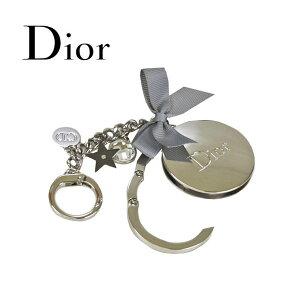 【海外限定】ディオール ビューティー Dior Beauty☆ キーホルダー アクセサリー 銀 シルバー ロゴ リボン バッグハンガー バッグフォルダー キラキラ チャーム キーリング チャームブランド クリスマス ハロウィン バレンタイン