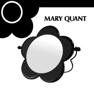 Maryquant MARY QUANT瑪麗鋤頭☆鏡子鏡子化妝製造化妝品雛菊花花紋花枱燈黑黑色名牌過年元旦冬天年末年初給的禮物禮物