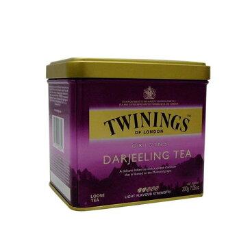 【6個セット】トワイニング紅茶(TWININGS) ダージリン(DARJEELING)リーフティ 200g×6