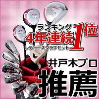ワールドイーグルFL-01★V2レディース13点ゴルフクラブセット【ブラックベリー】フルセット