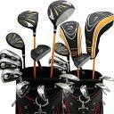 ワールドイーグル WE-5Z ブラック + G510カートバッグ メンズゴルフクラブ14点フルセット 右用【add-option】【楽天スーパーSALE】【半額以下】【50%OFF以上】の商品画像