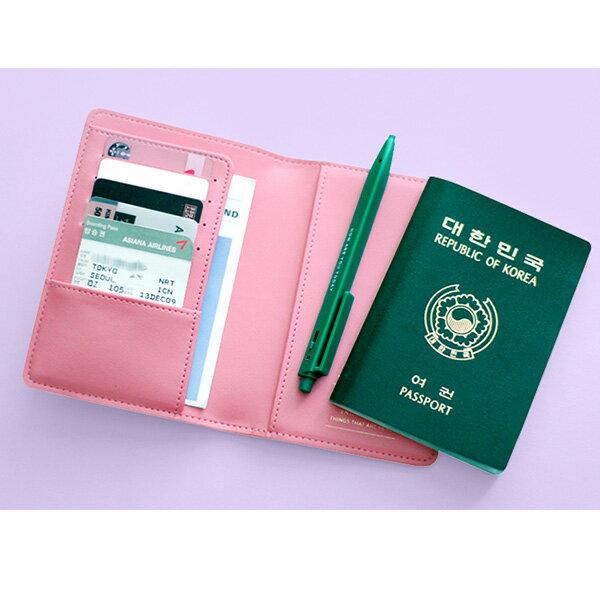 MARIANNEKATEマリアンケイトBONVOYAGEパスポートケース/パスポートカバー/韓国雑貨/韓国ブランド/トラベル/旅行用品/ラッピング無料