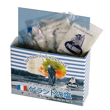 ゲランドの塩 顆粒 2gx10個 20g(セル・マラン・ド・ゲランド・グロ・グリ)