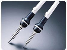 こて先Lサイズ付白光(HAKKO)センサー内蔵ボタン温度制御はんだごて934-2