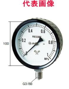右下精器製造ステンレス圧力計A形立型100径