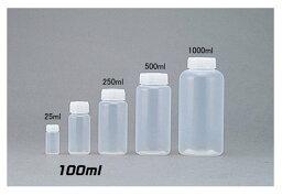 PFAボトル 広口(中栓なし) 100ml