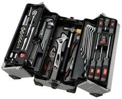 数量限定商品KTCスタンダード工具セット 56点(両開きメタルケース)SK35613WZ