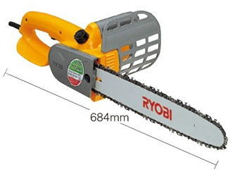 RYOBI(リョービ)電気式チェンソー有効切断360mmCS-3610S