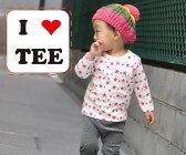 【最大2000円OFFクーポン発行中・ポイント10倍】大小の★プリントTシャツ・保育園(80cm 90cm 95cm 100cm)日本製 4050