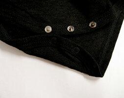 見えても肌着っぽくない秋冬用半袖長袖肌着ロンパースフライス綿100%A4791A4792(70cm80cm90cm95cm)