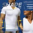2xist ツーイグジスト SHAPE 補正下着 スリミング Vネック Tシャツ シェイプアップウェア お腹 引き締め サポーター FORM SLIMMING V-NECK トップス インナー メンズ 男性下着 メンズ下着