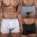 C-IN2 前開き ニットトランクス CORE RUNNER BOXER コットン100% 無地 シーインツー メンズ 男性下着 メンズ下着 ブランド パンツ