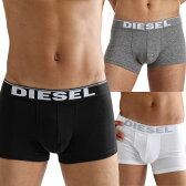 DIESEL ディーゼル ボクサーパンツ メンズ 男性下着 メンズ下着 【diesel ディーゼル】 ボクサーパンツ