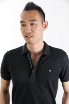 DIESELディーゼルポロシャツ半袖T-STARKPOLOピケポロ鹿の子ジップポロシャツメンズ男性【dieselディーゼル】