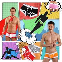 ヒーローカラーズローライズボクサーパンツイージーモンキーオリジナル前開きボクサーパンツ日本製MadeinJAPANコットンストレッチポップカラーメンズ男性下着メンズ下着パンツ