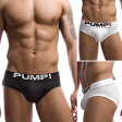 【PUMP パンプ】 ローライズ ブリーフ ローライズブリーフ ビキニブリーフ TOUCH DOWN CLASSIC BRIEF PUMP! Underwear メンズ 男性下着 メンズ下着 パンツ