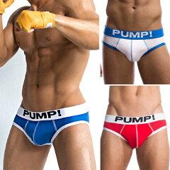 【PUMP パンプ】 ローライズ ブリーフ ローライズブリーフ ビキニブリーフ MICRO MESH BRIEF メンズ 男性下着 メンズ下着