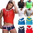 【PUMP パンプ】 スリーブレス パーカー タンクトップ BEACH HOOD TANK トレーニングウェア トップス PUMP! Underwear メンズ 男性 (タンクトップ メンズ)