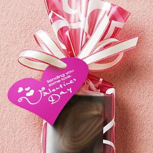 タッグでラッピング/バレンタイン/チョコ/ハート/菓子/包材【メール便OK】 バレンタインの...