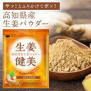 【送料無料】 高知県産 生生姜100%使用 生姜パウダー 非遺伝子組み換え アレ