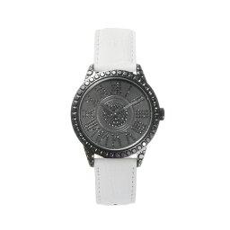 腕時計 メンズ スワロフスキー ジルコニア ゴールド ブラック 日本製 クォーツ FACEAWARD DIAZ-S