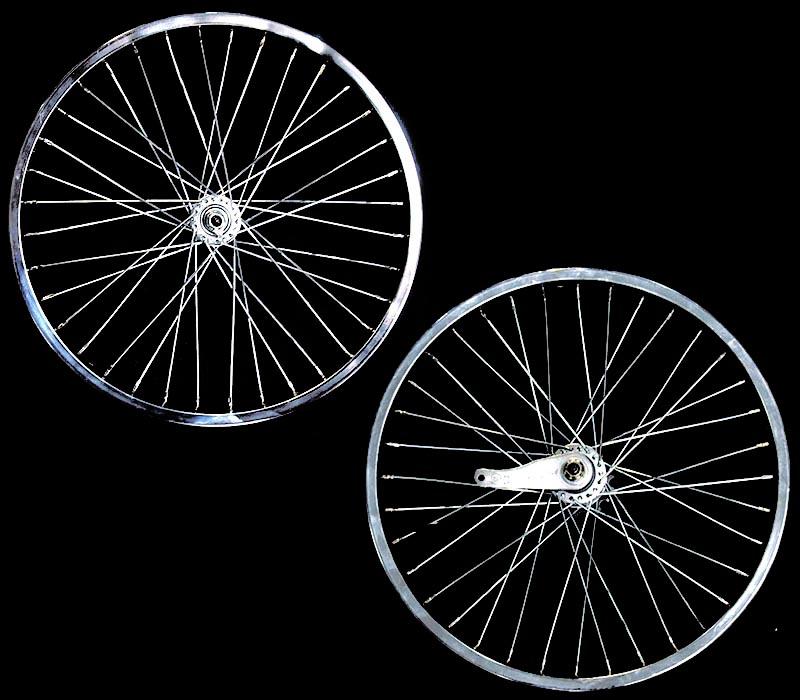 36スポーク 20インチ ホイール 前後セット クローム 自転車部品 ローライダー 自転車 パーツ ローチャリ ビーチクルーザー アクセサリー カスタム 部品 改造 BMX MTB GRQ  サイクルパーツ Schwinn シュウィン スティングレー エレクトラ レインボー コンプトン