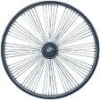 送料無料 72スポーク デイトン ファン ホイール フロント クローム 20インチ 自転車部品 ローライダー 自転車 パーツ ビーチクルーザー アクセサリー カスタム 部品 改造 BMX MTB GRQ サイクルパーツ Schwinn シュウィン スティングレー エレクトラ レインボー コンプトン