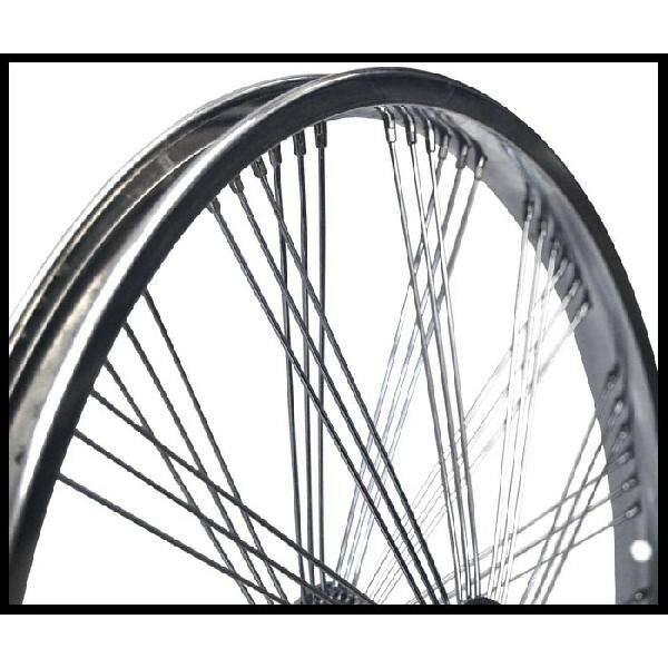 72スポーク デイトン ファン ホイール リア コースターブレーキ付き クローム 20インチ 自転車部品 ローライダー 自転車 パーツ カスタム 部品 改造 BMX MTB GRQ  サイクルパーツ Schwinn シュウィン スティングレー エレクトラ レインボー コンプトン