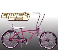 送料無料クルーズローライダー自転車ピンクローチャリビーチクルーザーLowriderBicycle20インチ自転車改造世田谷ベースSchwinnシュウィンスティングレーエレクトラレインボーコンプトンカスタムアメリカンチョッパーBMXMTBGRQ小径自転車ミニベロ