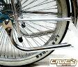 送料無料 マフラー パイプ クローム メッキ パイプカッター テールパイプ 自転車 パーツ ローライダー ビーチクルーザー 自転車部品 ローチャリ カスタム 部品 改造 BMX MTB サイクルパーツ Schwinn シュウィン スタイル ママチャリ エレクトラ レインボー コンプトン
